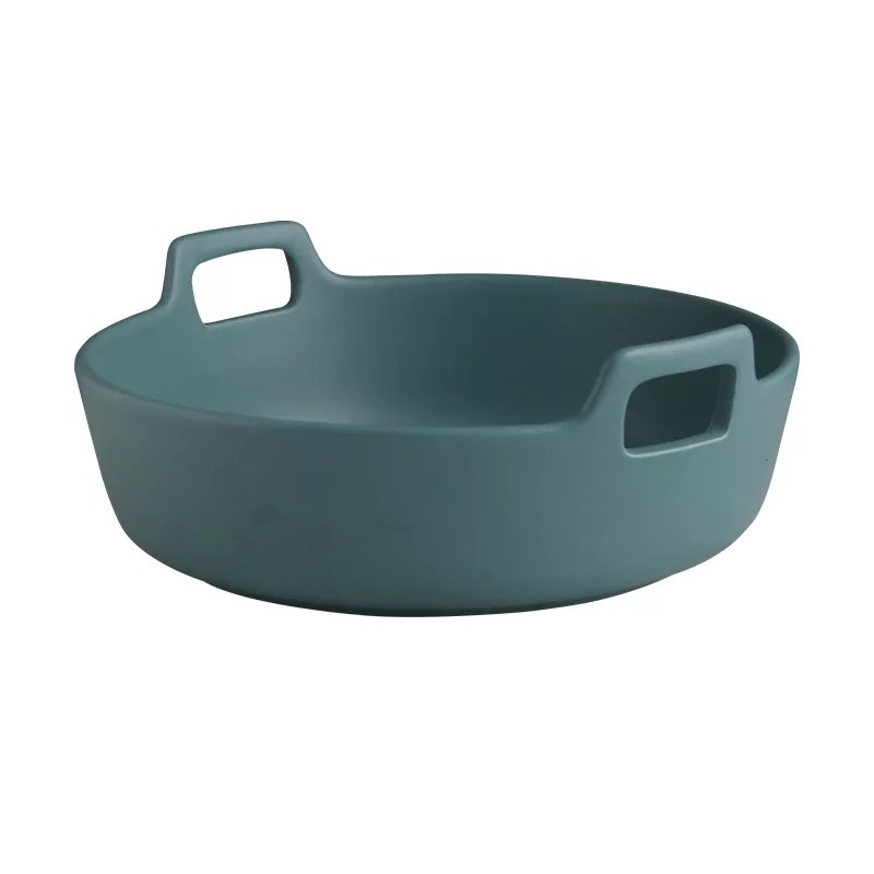 מוצר 9inch Creative Ceramic Salad Bowl With Double