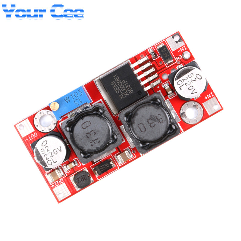 50pcs Boost Buck DC-DC Adjustable Step Up Down Converter XL6009 Power Supply Module 20W 5-32V to 1.2-35V