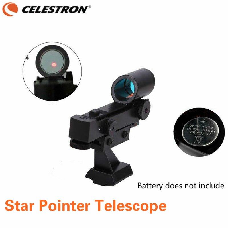 Celestron Red Dot Finder Pointeur Étoiles Chercheur Applicable 80EQ 80DX SE SLT Série Haut de Gamme Astronomique Télescope Accessoires