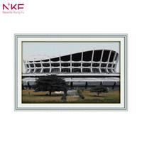 NKF 14CT 11CT Counted And Stamped African National Theatre Needlework Embroidery Cross Stitch Kits For Home