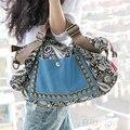 Женщины Новая Хобо сумка Мода Tote Посланник Кожаный Кошелек Плеча Сумочку 02T1 4OMF