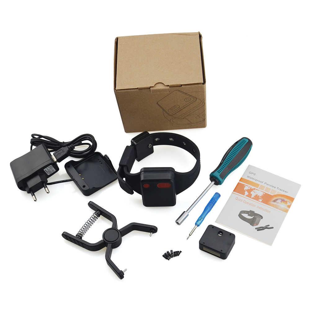 10 adet/grup ceza ayak bileği bilezik GPS tracker MT-60X mahkum GPS kişisel izleyici su geçirmez Uzaktan izleme Kemeri alarmı