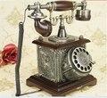 Бренд Dickdenton Европе Домашний телефон стационарный античный Вращения набора номера телефонов