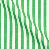 Настроить Хлопок Бизнес Формальный Зеленый Белый Полосатый Рубашки Моды для Мужчин С Длинным Рукавом Социальный Рубашка Плюс Размер Дизайн