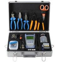 Набор волоконно оптических инструментов, включая измеритель оптической мощности, волоконно Кливер, волоконно оптический визуальный дефек