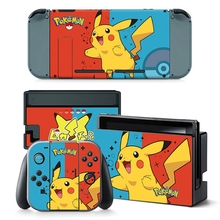 Poke Cover Skin Sticker For Nintendo Switch NS Console&Joy-Con Controller Game Sticker Vinyl Decal Protector Nintendoswitch