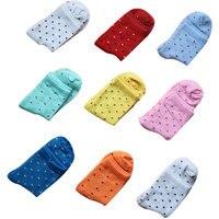 Cute Socks Candy Dots Polka Dot Women's For Socks Women's Socks Wholesale 1lot =10pieces=5pairs Calcetines Mujer Sokken