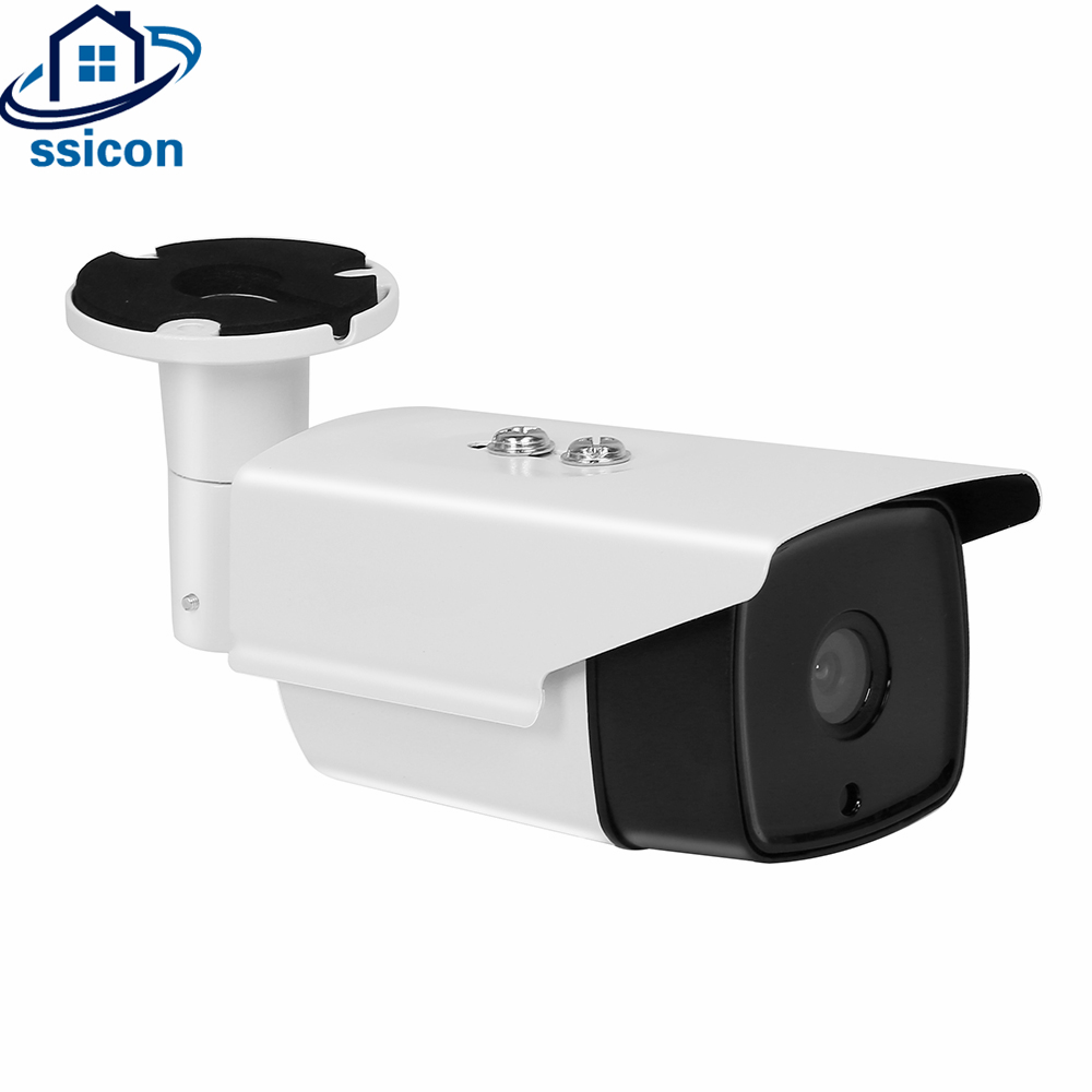 SSICON 4Pcs Array Leds IR Distance 30M 4.0MP AHD Bullet Camera Waterproof 4mm Lens Outdoor Security Analog Camera CCTV Outdoor ssicon 1 0mp 1 3mp wireless surveillance cctv camera ip 3 array leds waterproof wifi camera bullet outdoor support 64g sd card
