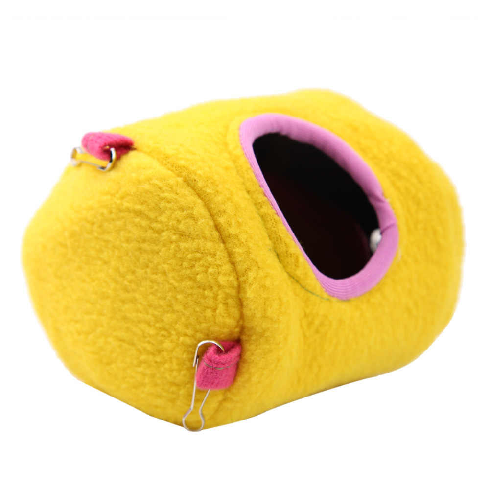 S/L Pet Hängenden Haus Hängematte Kleine Tiere Baumwolle Hamster Käfig Schlaf Nest Haustier Bett Käfig für Papagei Ratte hamster Spielzeug