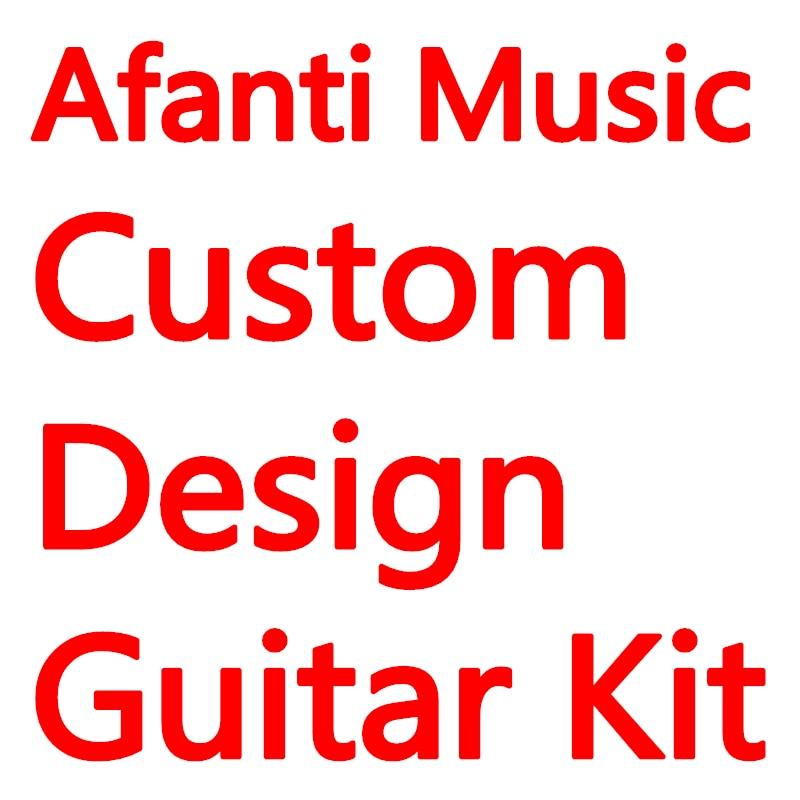 Analytical Afanti Music Custom Design Electric Guitar Kit Diy Guitar Delaying Senility