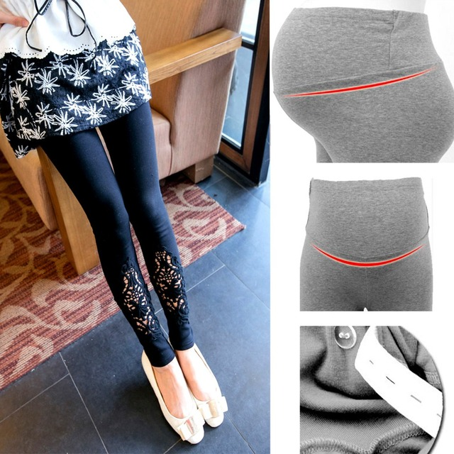 2017 Spring New Fashion Gravida Maternity Pants Care Belly Leggings Clothes For Pregnant Women Ropa Mujer Plus Size 3 Colors