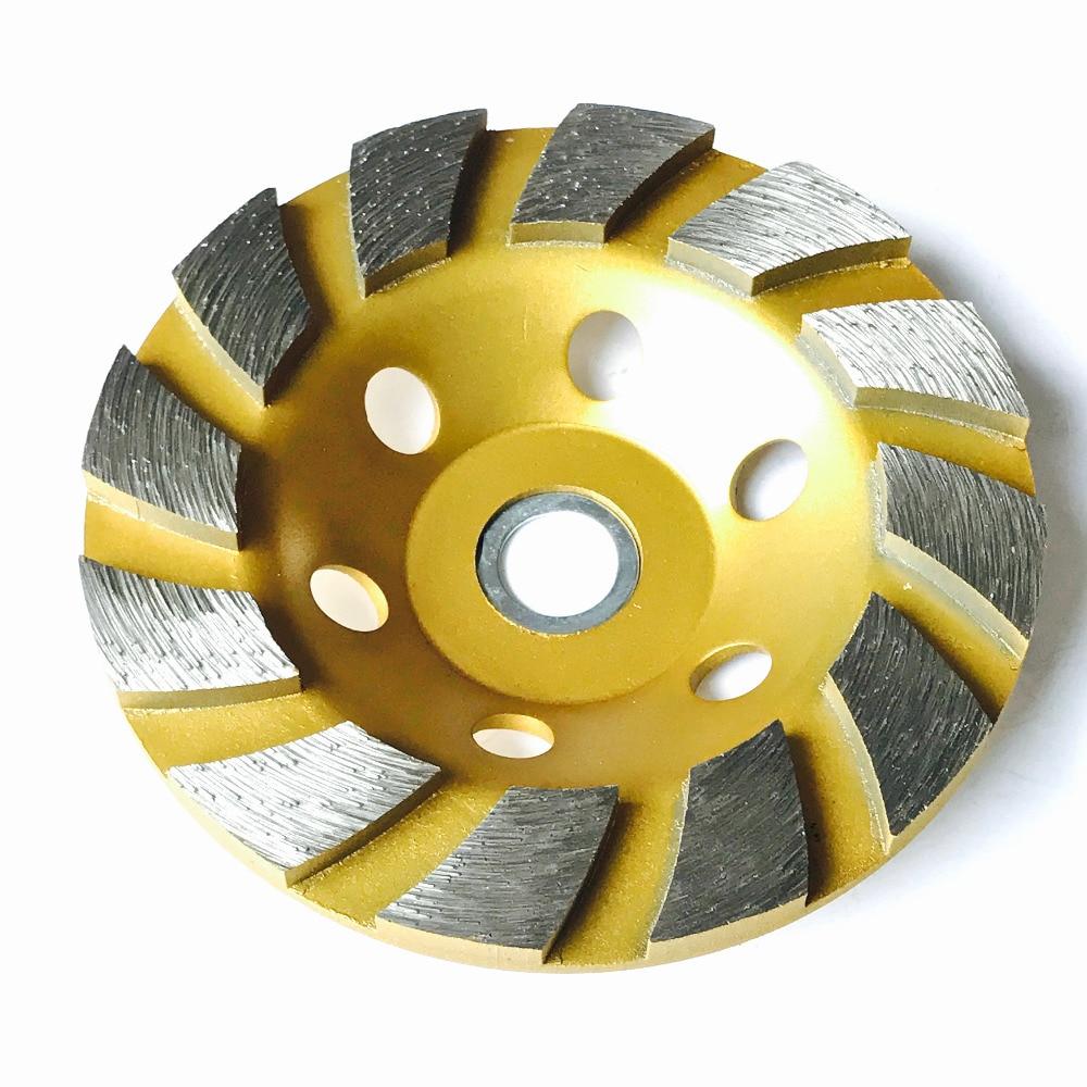 GRATIS VERZENDING van sinteren woondecoratie met 125 * 22 * 5 mm I gesegmenteerde komschijf voor het slijpen van marmer / graniet / keramiek / beton