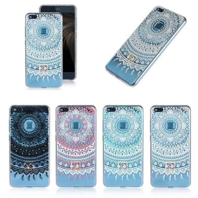coque huawei p10 silicone fleurs