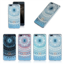 Case For Huawei P10 Lite Cover Silicone Clear Mandala Flower TPU Gel Phone Coque Etui For Huawei P10 Lite Capinha Hoesjes Fundas