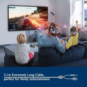 Image 5 - Eksa E800 Gaming Headset Gamer Met Noise Cancelling Microfoon Hoofdtelefoon Led Licht 3D Geluid Voor PS4, pc, Laptop, Mobiele