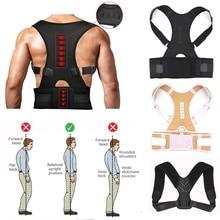 Tom's Hug Adjust Magnetic Shoulder Back Support Belt Therapy