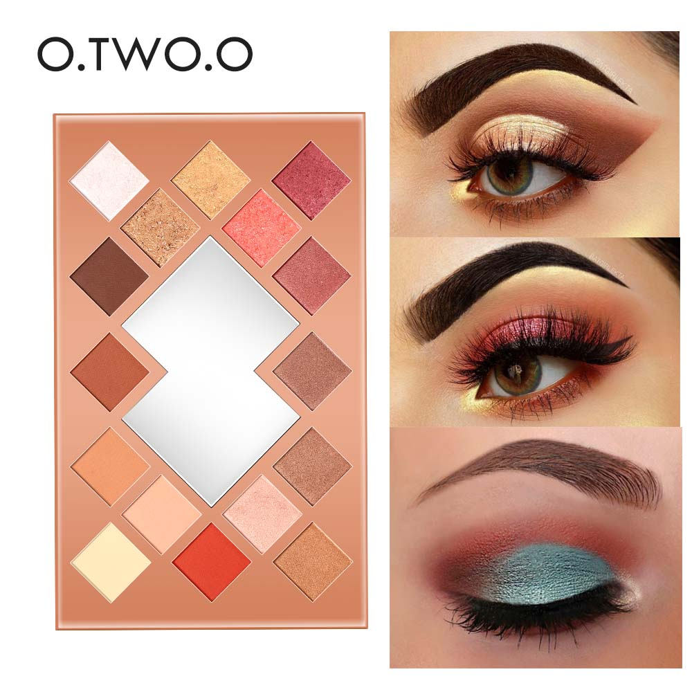 O.TWO.O Diamond Glitter Eyeshadow Professional Makeup Palette Matte Shimmer Eye Shadow Pigment Mermaid Effect Cosmetics Kit 177 color eyeshadow makeup palette shimmer professional matte eye shadow face foundation lip gloss collection makeup set kit