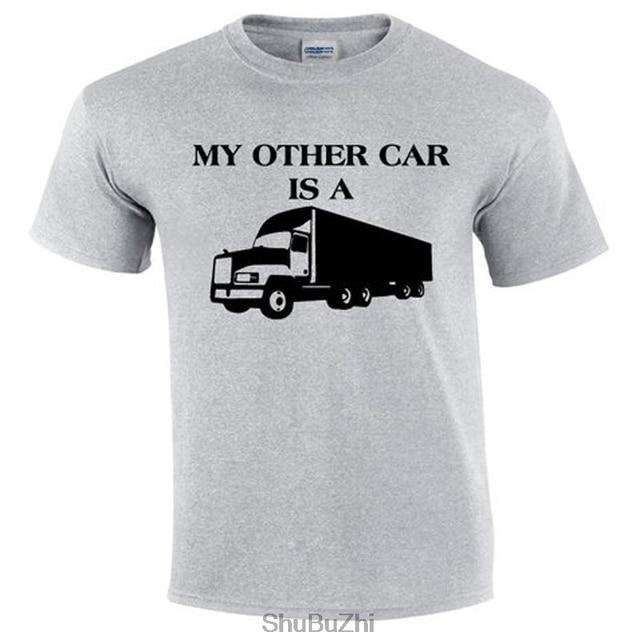 e01de860c My Other Car Is A   Trucker T-shirt   Truck Driver T-shirts   Trucker Tee-shirt  Funny   Trucker Tee Shirts   Truckers Clothing
