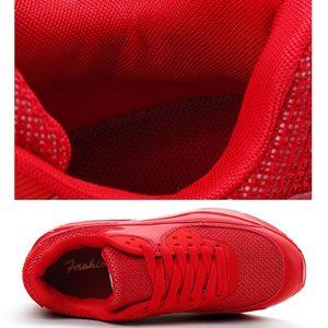 Image 4 - Hundunsnake夏バスケットファムスニーカー女性のスポーツの靴ランニングシューズスポーツメンズシューズテニス女性通気性A 052