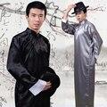 Китайский Народный Танец Мужчины Халат Китайский Традиционный Одежда Мужчины Тан Одежда Учитель Костюм Древняя Китайская Костюм