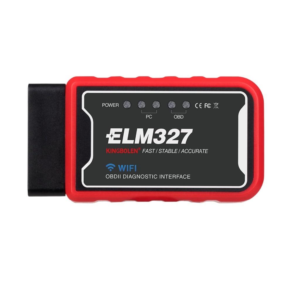 HTB1sg Fao rK1Rjy0Fcq6zEvVXaC ELM327 Wifi Bluetooth V1.5 PIC18F25K80 Chip OBD2 Code Reader ELM 327 V1.5 OBDII Diagnostic Tool for Android/IOS/PC auto scanner