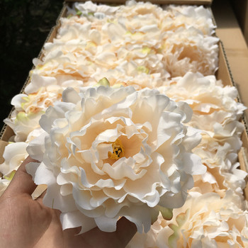 Hot Sale 15CM Dia Upscale Artificial Peony Flowers Heads Wedding Decoration DIY Supplies Accessories Multi Color Available