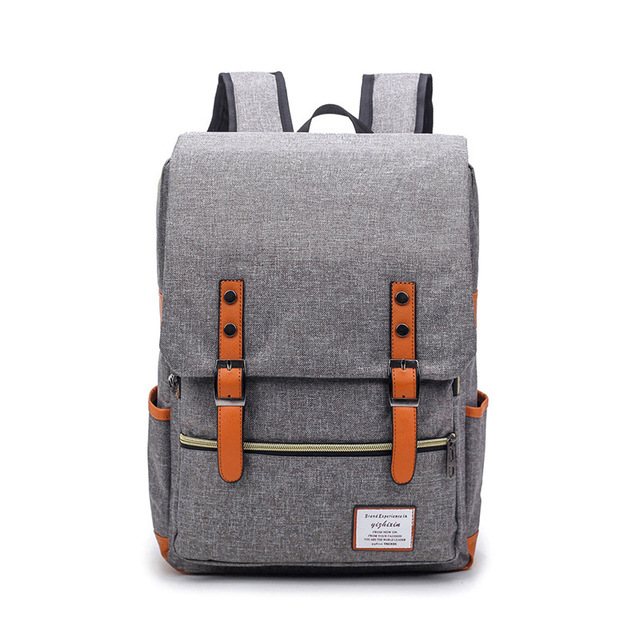 Fashion man laptop backpack usb charging computer backpacks casual style bags large male business travel bag backpack