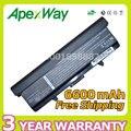 Apexway 6600 mah batería del ordenador portátil para dell inspiron 1525 1526 1545 1546 Vostro 500 GW240 HP297 M911G RN873 RU586 X284G XR693 GW240