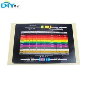 Image 4 - Набор ассортимента металлических пленочных резисторов с маркировкой 1460 шт./компл. 1/4 Вт, 1% точность, 73 значения с коробкой