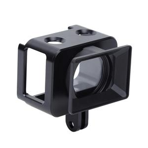 Image 3 - PULUZ אלומיניום סגסוגת מגן מקרה עבור Sony RX0 השני מצלמה כלוב & 37mm UV מסנן עדשת & עדשת שמשייה עם ברגים ומברגים