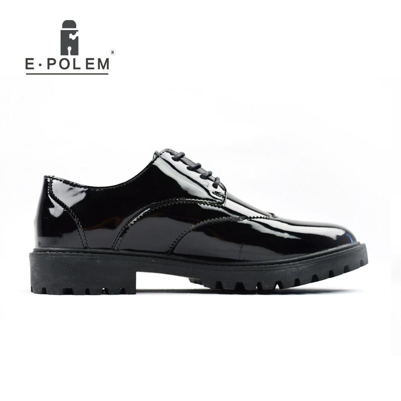 Do Moda Couro Masculino Pé Brogue Dos Vintage Sapatos Casual Negócios De Dedo Primavera Homens Preto Trabalho Black Verão Redondo PYaqwqxEvn
