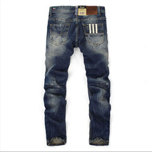 Fashion Dsel Designer jeans men Famous Brand Ripped jeans Denim Cotton Jeans Men Casual Pants printed jeans , C9003