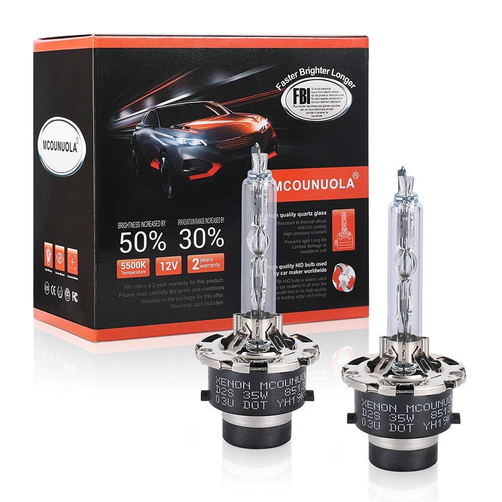 2PCS Xenon Bulb 90981-20005 90981-20008 90981-20013 90981-20029 D2S D2R D4S D4R 12V 35W 4300K 5500K 8000K For Toyota Lexus
