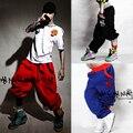 Hip Hop Харен Брюки для Мужчин ХИП-ХОП танец streetwrat Паркур мужская Тренировочные Брюки HIP HOP Брюки Лето Мужской Famale Брюки
