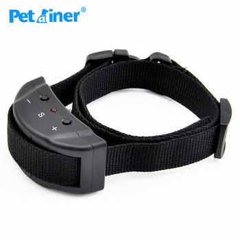 Petrainer 853 pies zwinność produkt anty urządzenie do kontroli szczekania obroża treningowa obroża przeciw szczekaniu obroża elektroniczna tanie i dobre opinie Obroże szkoleniowe Z tworzywa sztucznego Black ABS+Hardware Auto-Protection Mode 7 8X3 4X3 8CM Electric Dog Collar Sound Shock