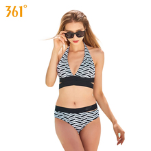361 Women Backless Sexy Bikinis Push Up Halter Bandage Swimsuits Beach Swimwear Bathing Suit Girl Two Piece Pool Swimming Suits