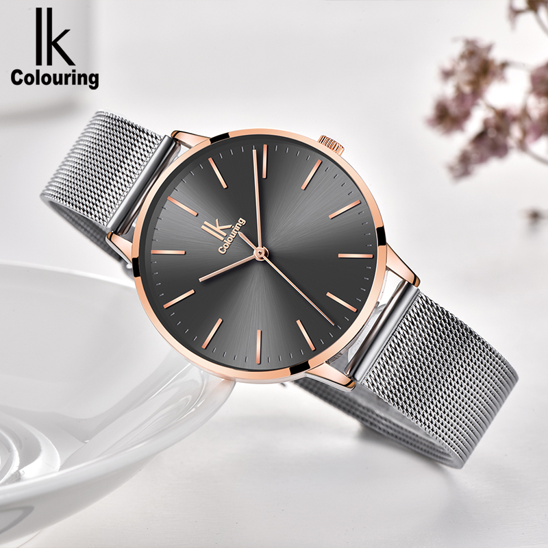 Korean version of the simple female students watch fashion trend waterproof sports quartz watch belt with  woman watch the impact of technology toward students performance
