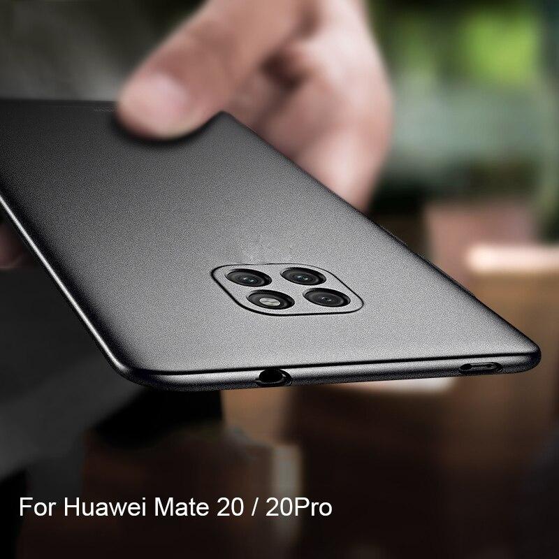 Étui pour Huawei Mate 20 Pro housse souple coque en silicone Ultra mince mat housse de protection pour Huawei Mate 20 Mate20 Pro étui