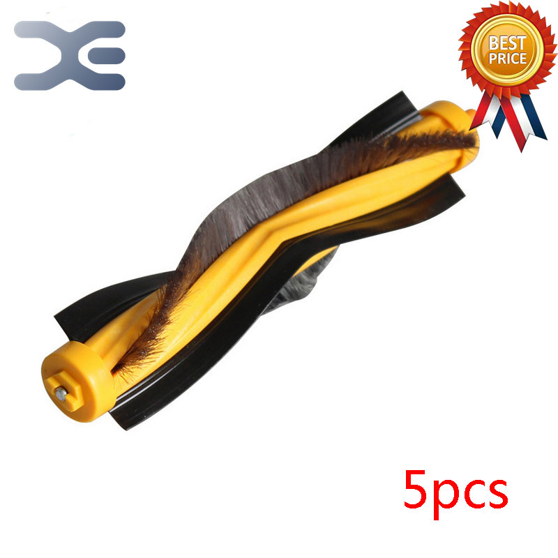 5 Pcs Vacuum Cleaner Parts Sweeping Machine Accessories Roller Brush High Quality Ecovacs Cleaner Accessories