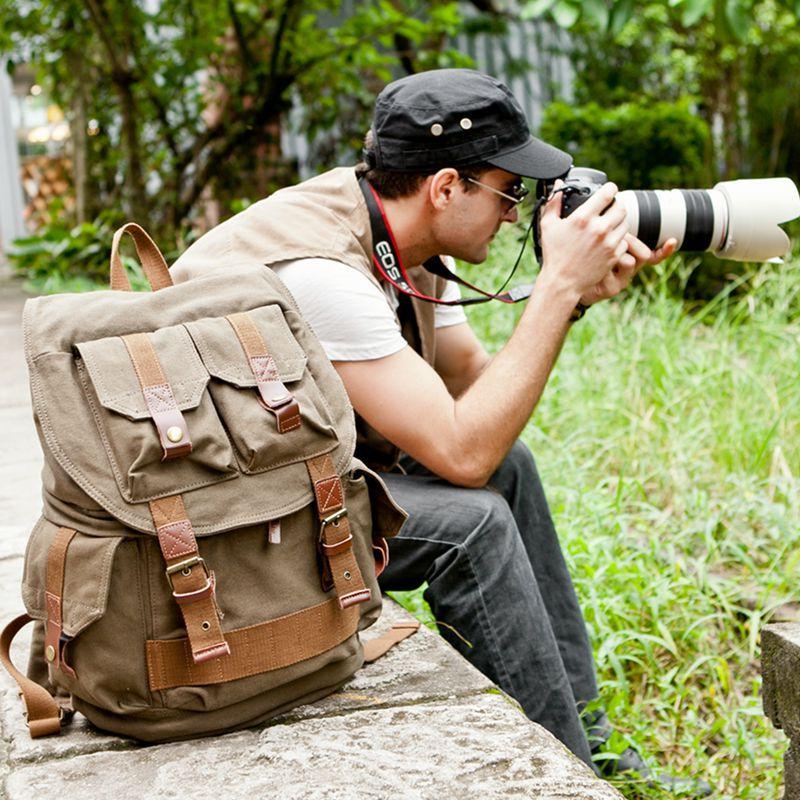 Большой Ёмкость Водонепроницаемый фотографии Камера видео сумка плеча фотограф фото рюкзак для Canon Nikon sony DSLR