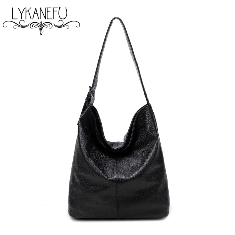 LYKANEFU European Style LargeTote Bag 2017 Luxury Women Shoulder Bags Fashion Women Bag Ladies Brand Handbag Hobo Bolsa Feminina famous brand women canvas bags shoulder bag italy handbag style retro handmade bolsa feminina braccialini for ladies mexico bags
