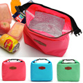 2015 New Zipper Insulated Thermal Bag High Quality Insulation Bento Picnic Lunch Pouch Fast Food Box Handy Cooler Keep Warm A2y