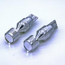 2 шт. 30 Вт T10 W5W 6SMD 6 светодиодный XBD чипы без ошибок Габаритные фонари для автомобиля белые дневные дальнего света Автомобильный светодиодный светильник для чтения