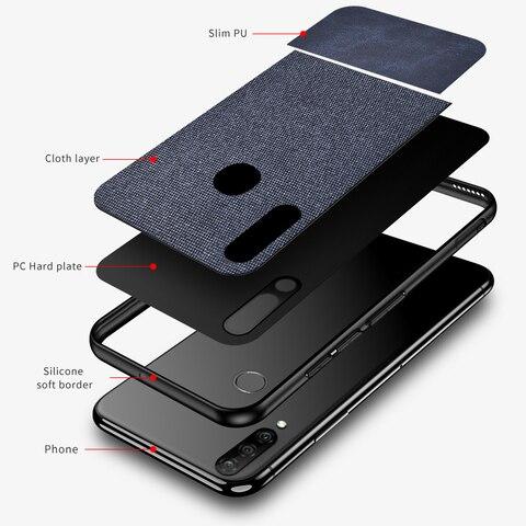 Cotton Cloth Case For Huawei P30 Pro Lite Mate 20 Pro Fabric Back Cover Huawei P30 Pro Case Huawei P30 Lite Case fundas coque On Multan