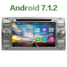 Android 7.1.2 2GB RAM 4G WIFI DAB+ Car DVD Multimedia Player Radio Stereo For Ford C-MAX S-MAX 2005 2006 2007 2008 2009 2010