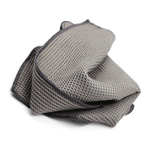 Image 4 - 2PC Car Wash Towel Glass Cleaning Water Drying Microfiber Window Clean Wipe Auto Detailing Waffle Weave for Kitchen Bath 40*40cm