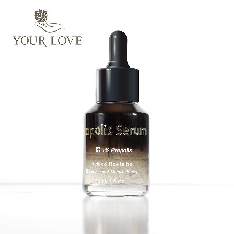 NewZealand JYP Intensive 1% Propolis Serum Organic Manuka Honey Cream Antiseptic Anti wrinkles Increase skin elasticity Healing 4