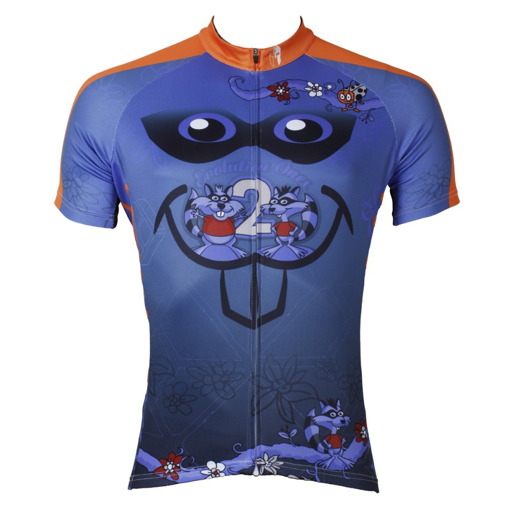 "Pánská cyklistická bunda ""Cartoon Rat"" PALADIN s krátkým rukávem a cyklistickým dresem"