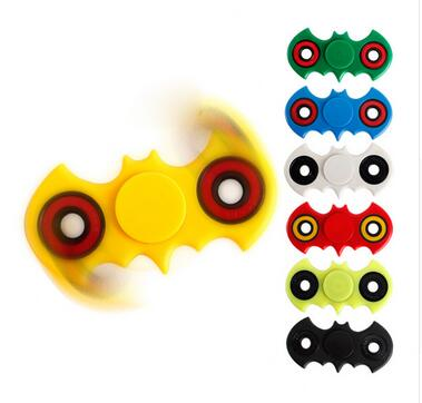 7 Colors Hand Spinner Fidget Stress Cube Batman Fidget Spinner Plastic EDC Tri Spinner Fidget Toy