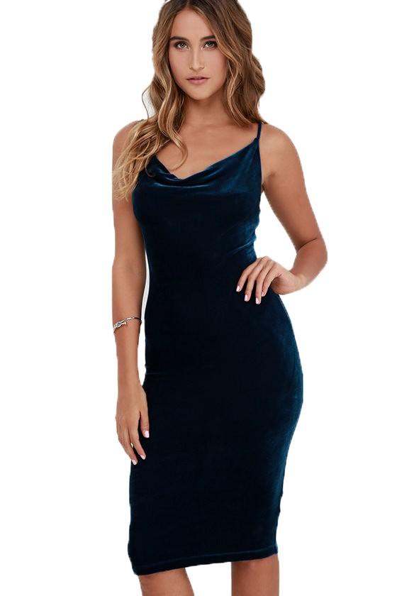 HTB1sgd1OFXXXXaQaXXXq6xXFXXX8 - FREE SHIPPING Sexy Velvet Dress JKP207